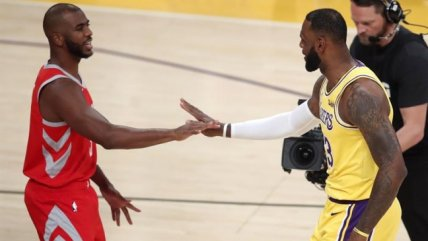 Derrota de Los Angeles Lakers ante Houston Rockets resaltó en la última jornada de la NBA
